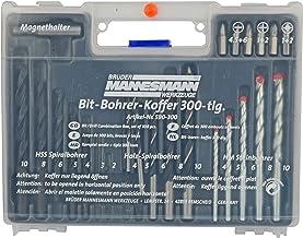 Mannesmann - M 590-300 - Juego de tacos y brocas 300 piezas