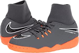 Nike Kids Jr. Hypervenom PhantomX 3 Academy Dynamic Fit IC Soccer (Little Kid/Big Kid)