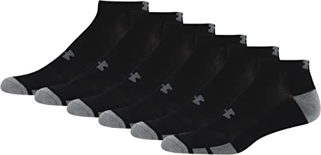 Under Armour Men's Resistor Low-Cut Socks (6 Pack)