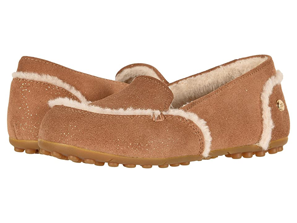 UGG Kids Hailey Sparkle (Little Kid/Big Kid) (Chestnut) Girls Shoes