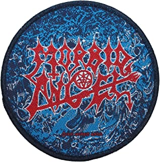 Morbid Angel Alters Of Madness Patch Death Metal Band Woven Sew On Applique