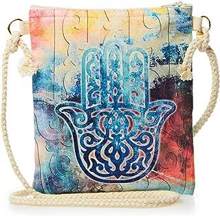 Alwan-Accessories Crossbody Bag For Women with Hamsa Design - EE8377HB