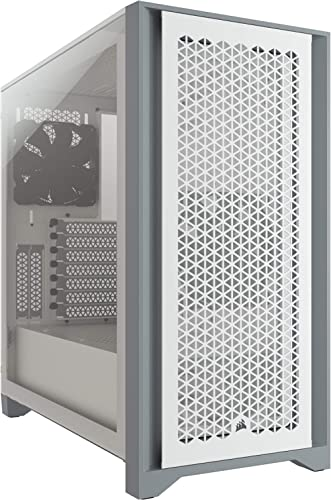 Corsair 4000D Airflow Tempered Glass Mid-Tower ATX Case (High-Airflow Front Panel, Tempered Glass Side Panel, RapidRo...