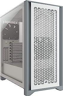 Corsair 4000D Airflow CC-9011201-WW Tempered Glass Mid-Tower ATX Case, White