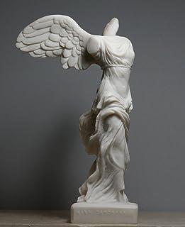 Escultura alada de Nike Victory of Samothrace Diosa griega
