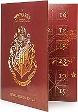 HARRY POTTER Calendrier De L'avent 2019 Advent Calendar 24 Bijoux Fantaisie Collier Bracelet Breloques Pendentifs Personnage Film Harry Hermione Ron Albus Cadeau pour Fille Adulte Enfant