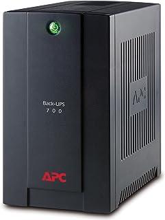 comprar comparacion APC BX700UI Back-UPS BX - Sistema de alimentación ininterrumpida SAI 700VA (4 salidas tipo IEC, AVR, USB, software de apag...