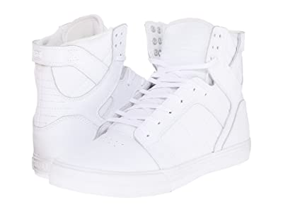 Supra Skytop (White/White/Red/White) Men