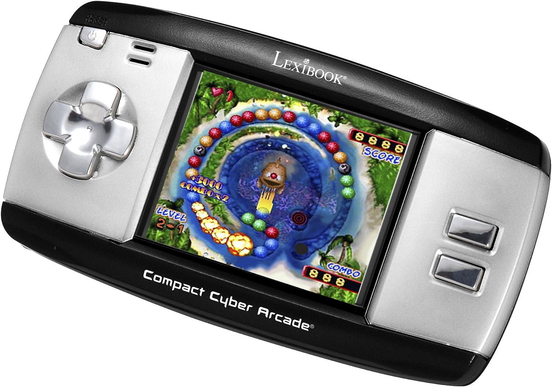 LEXIBOOK JL2375 Consola Videojuegos portátil con 250 Juegos, Bicolor Gris/Negro, Color