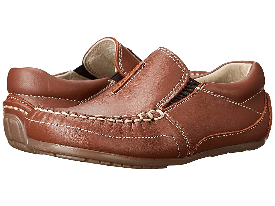 Kid Express Colton (Toddler/Little Kid) (Chesnut Leather) Boys Shoes