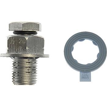 Dorman AutoGrade 65200 Oil Drain Plug Universal 1//2 In Shank Length 0.625 In.