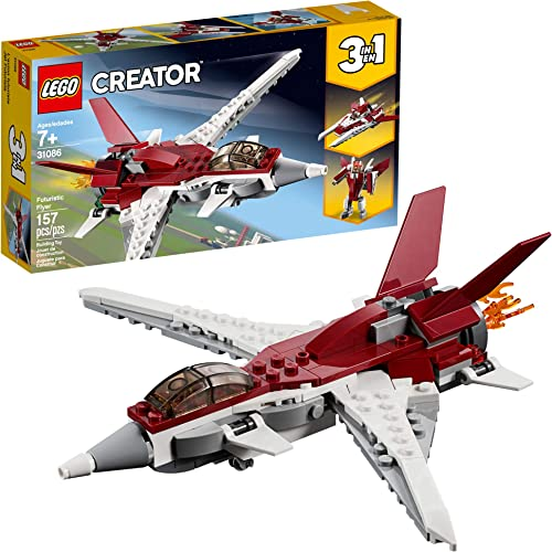 wholesale LEGO Creator 3in1 Futuristic Flyer 31086 Building outlet online sale Kit (157 outlet sale Pieces) online sale