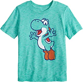 Boys 4-12 Super Mario Yoshi Jump Graphic Tee
