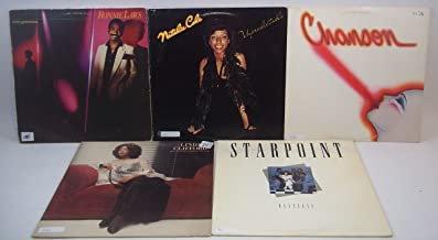 Soul and R&B Lot of 5 Vinyl Record Albums Natalie Cole, Ronnie Laws & More