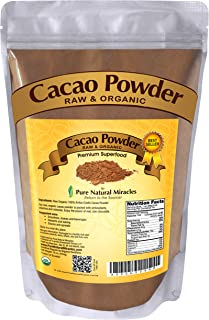 Best cocoa powder raw Reviews