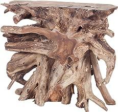 Dimond Home table, 36 x 13 x 31, brown