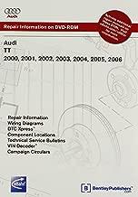 Audi TT 2000, 2001, 2002, 2003, 2004, 2005, 2006 Repair Manual on DVD-ROM (Windows 2000/XP)