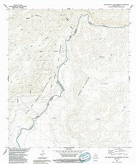 YellowMaps Las Vegas De Los Ladrones TX topo map, 1:24000 Scale, 7.5