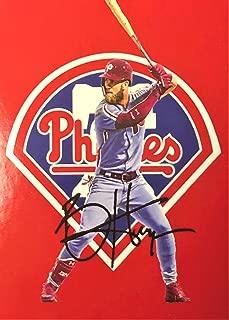 2019 BRYCE HARPER Phillies Facsimile Autograph Custom Baseball Card (SHIPS FREE)