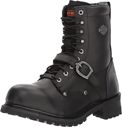 Harley Davidson Mens Faded Glory Full Grain Leather Boots : boots