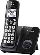$25 » Panasonic KX-TGD510B Expandable Cordless Phone with Call Block - 1 Handset (Renewed)