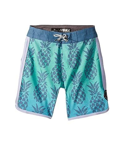 Rip Curl Kids Mirage Honolua Boardshorts (Big Kids) (Aqua) Boy