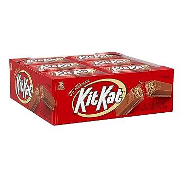 Barras de Kit Kat, obleas crujientes cubiertas de chocolate