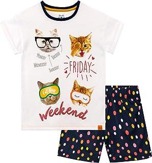 Pijama Corta para niñas Gato