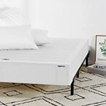 AmazonBasics Mattress Foundation / Smart Box Spring for Twin XL Size Bed, Tool-Free Easy Assembly - 9-Inch, Twin XL