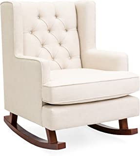 Best yellow upholstered rocking chair Reviews