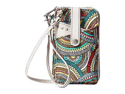 Sakroots Artist Circle Smartphone Wristlet (Multi Mosaic Wanderlust) Wristlet Handbags