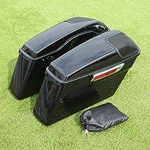 """$278 » Sponsored Ad - TCT-MT Hard Saddlebags w/ 5 x 7"""" Speaker Lids Fit For Harley 2014-2020 Touring Road King FLT FLHT FLHTCU FL..."""