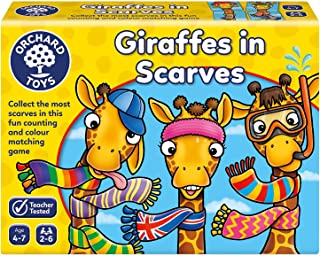 Orchard Toys Giraffes in Scarves Game, Multi-Colour, One Size, 070