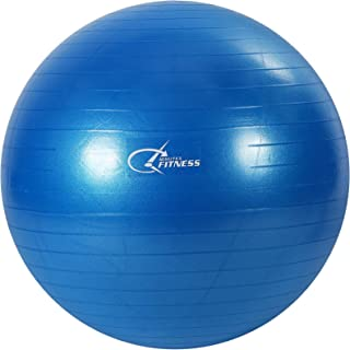 Fitness Minutes Exercise Yoga Ball,Blue, 55cm,YB55-BL