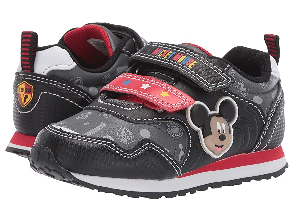 Josmo Kids Mickey Jogger (Toddler/Little Kid) (Black/Red) Boy