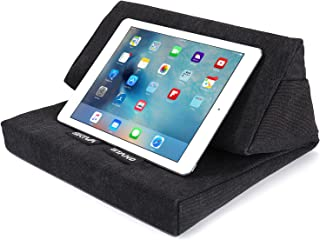 Skiva EasyStand Pad iPad Pro Air Mini、Samsung Galaxy Tab Note 10.1、Google Nexus 7、Microsoft Surface Pro、平板电脑、电子阅读器(黑色)[型号:ES101]ES101