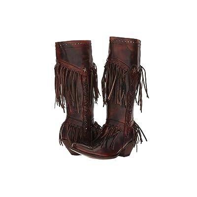 Old Gringo Pereyra (Rust/Chocolate) Cowboy Boots