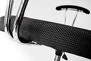 Avanti Trendstore - Migalli - Sedia d'ufficio girevole e regolabile in altezza, ideale per la scrivania, disponibile in diversi colori, dimensioni LAP ca. 58x86-96x52 cm