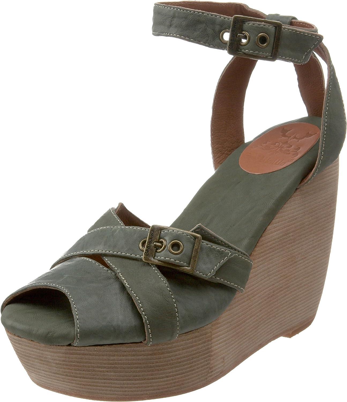 Gee WaWa Women's Sofie Wedge Sandal