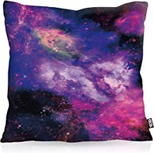 Dekokissen mit Namen Geschenk Universum Planeten Kissenbezug personalisiert *NEU