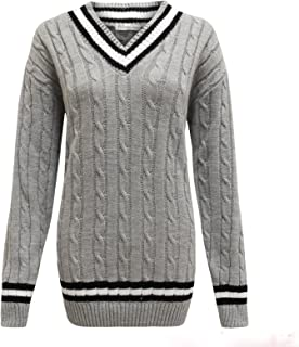SM To LXL RZN Fashion New Womens Ladies Button Detail Knitted V Neck Long Sleeve Top Jumper Sweater