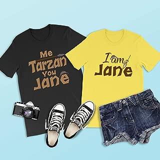 Me Tarzan You Jane Shirt, Tarzan Shirt, Disney Shirts, Couples Disney Shirts, Disneyland, Disney World, Animal Kingdom, Family Disney Shirts