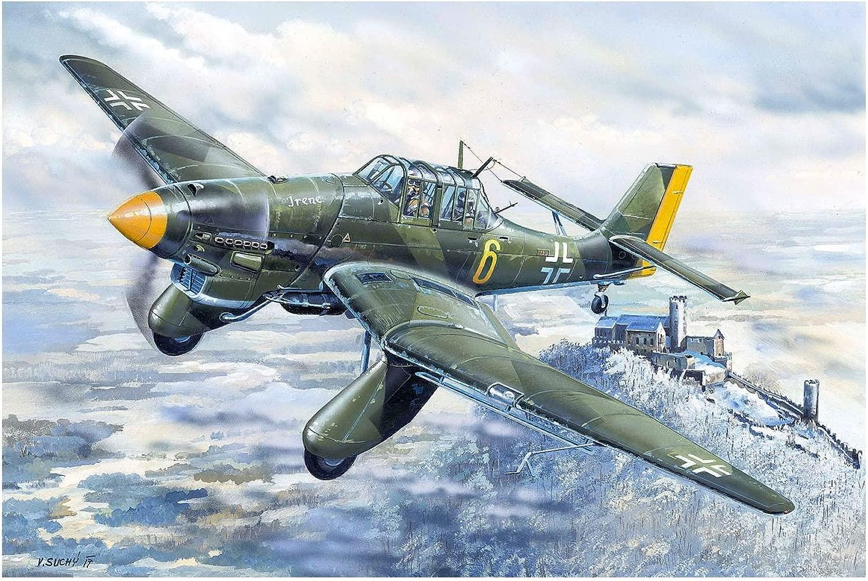 Trumpeter 02420modellolino Junkers 87A stuka