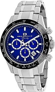 Oceanaut Men's Biarritz Analog-Quartz Watch with Stainless-Steel Strap, Silver, 20 (Model: OC6113)