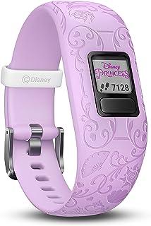 Garmin vivofit Jr. 2 - Disney Princess Activity Tracker for Kids - Adjustable Band - Purple