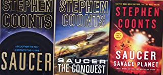 Saucer Series by Stephen Coonts Complete Science Fiction Trilogy