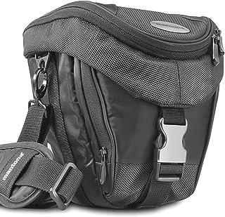 Mantona Colt torba na aparat (uniwersalna torba z szybkim dostępem, ochrona przed kurzem, pasek do noszenia i kieszeń na a...