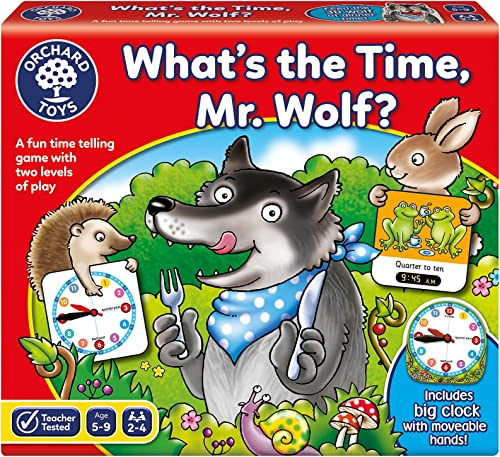 Orchard Toys 102188 - What's The Time Mr Wolf