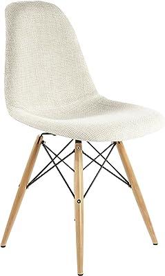 Stilnovo The Ansgar Side Chair, Beige/Wood