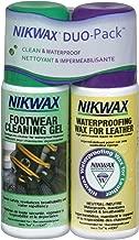 Nikwax Leather Footwear Clean/Waterproof DUO-Pack